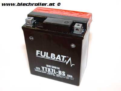 Batterie 12V/6Ah YTX7L-BS - vorgeladen
