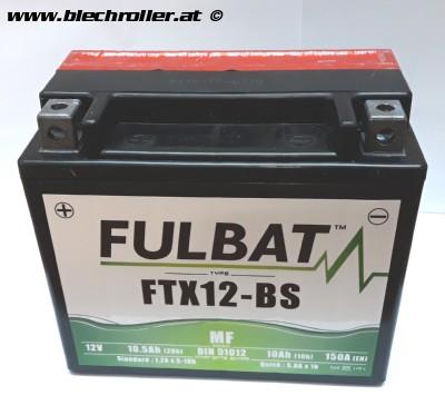 Batterie Fulbat 12V/10Ah YTX12-BS - vorgeladen