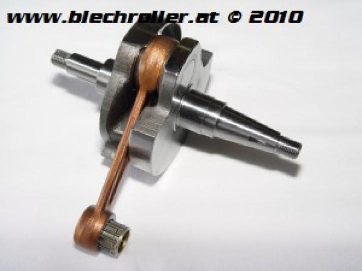 Kurbelwelle MAZZUCCHELLI Vespa PX125/150/ Sprint Veloce/GTR/TS/Super - großer Konus