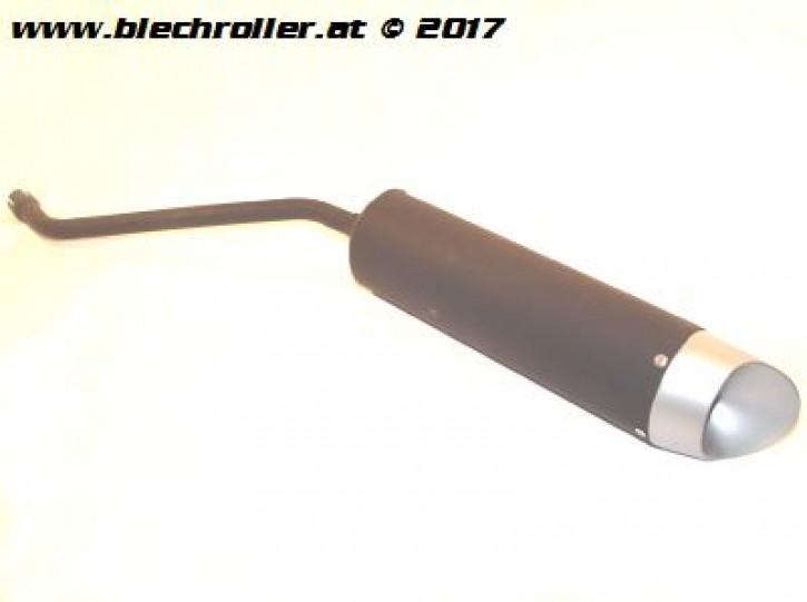 Auspufendftopf - VA4... Homologation E9 Generic D01-M1 für KSR Moto / Gerneric TR Serie und Baugleiche