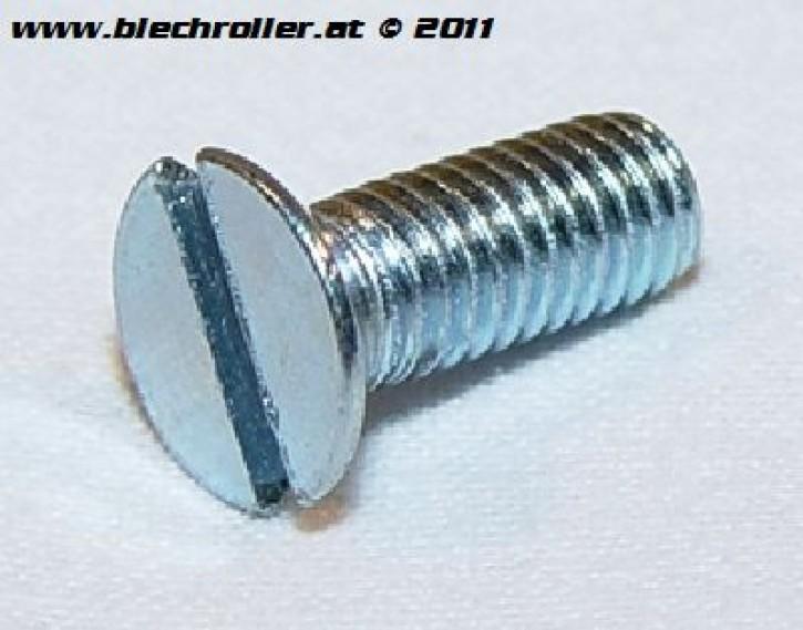Vergaserwannen Schraube (Schlitz) für Vespa PX/T5 / VNA-VBB/T4/Sprint/Rally, Senkkopf