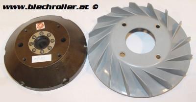 Lüfterrad BAJAJ für Umrüstkit E-Zündung 50025000, für Vespa 125 VNA/VNB/GT/GTR 1°/Super/TS 1°/150 VBA/VBB/T4/GL/Sprint /V 1°/Super 1°