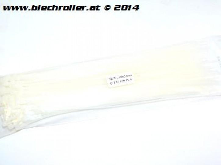 Kabelbinder 100 Stück, Länge: 300mm