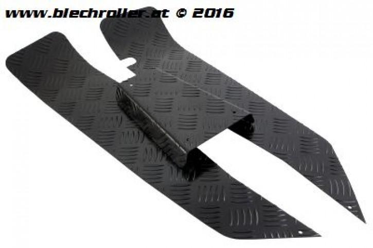 Riffelblechsatz Trittbrett für Vespa V50-125/PV/ET3