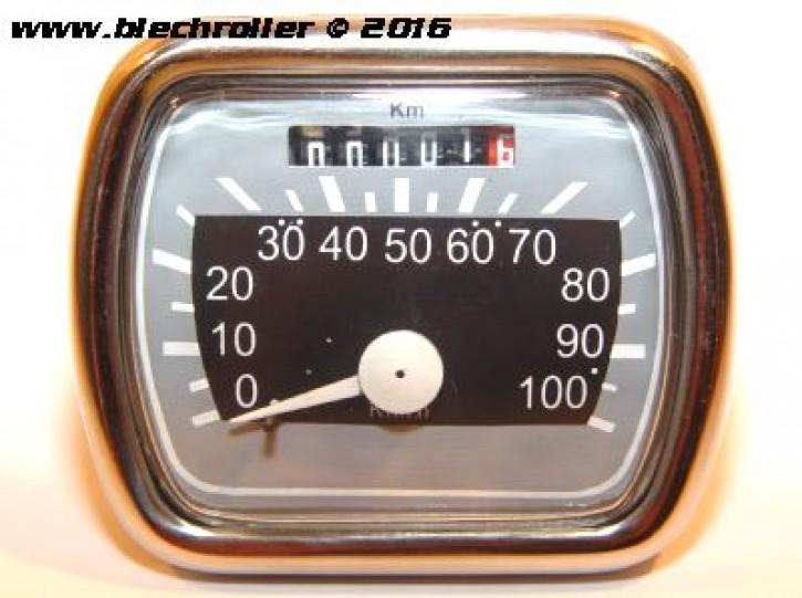 Tachometer für Vespa 125 V30-V33/VM/VN 150 VL1 /ACMA - eckig