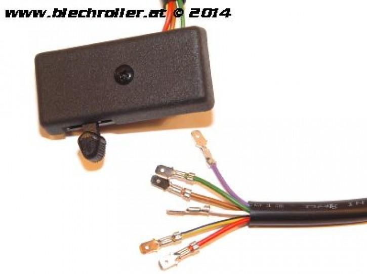 Blinkerschalter für Vespa P125X/PX125E-> 100049 /P150X->410580 /P200E -> 137653
