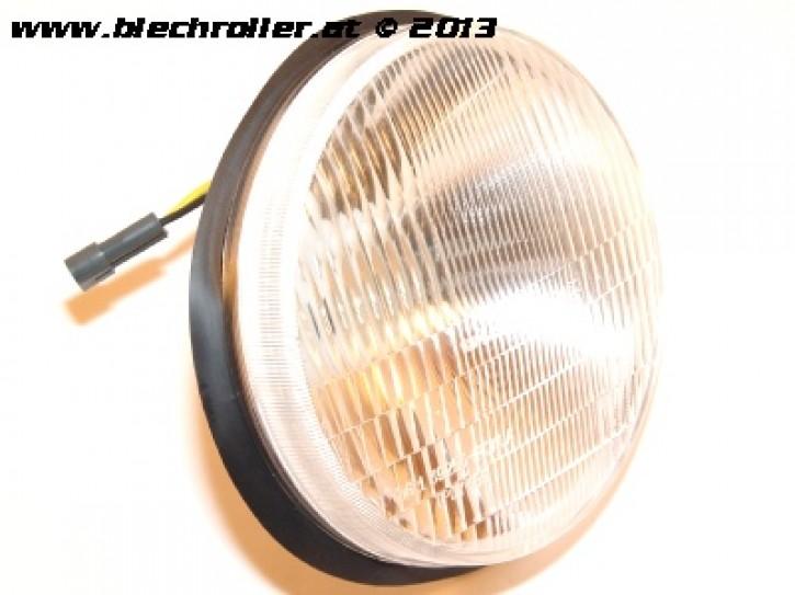 Scheinwerfer PIAGGIO für Vespa PK50-125/XL Fl/HP/N/XL2 - rund/seitlich verschraubt