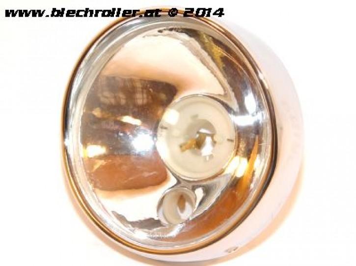 * Scheinwerfer BOSATTA für Vespa 125 VNB3-6/150 VBA/VBB/VGLA-B/GS VS5/160 GS - Rund