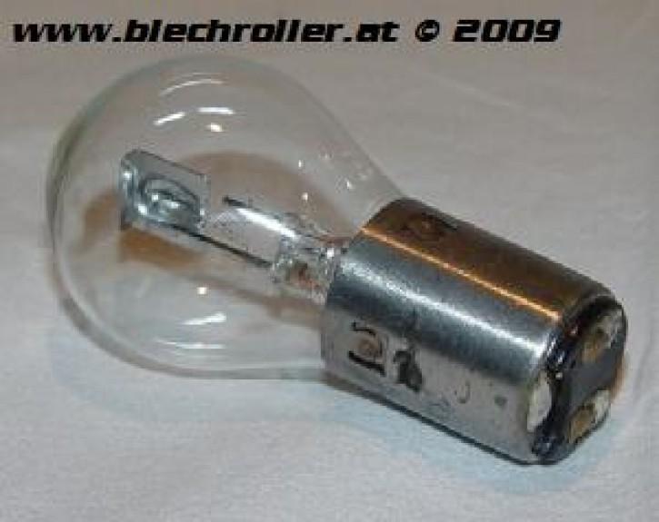 Biluxbirne 6V 25W/25W, Sockel: BA20D - für Scheinwerfer