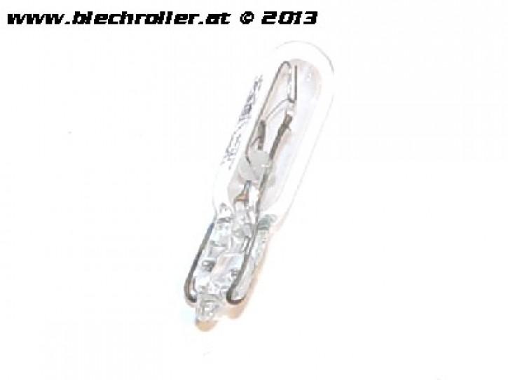 Birne Kontrollleuchte/Tachobeleuchtung, Glassockellampe 12V/2W