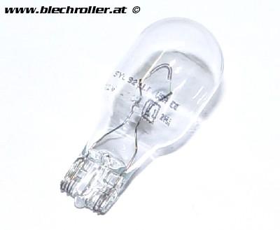 Birne 12V/?16W, Sockel: Glassockellampe (groß weiß/klar)