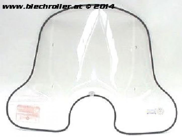 Windschild FACO, klar, für Vespa 50-125 PK/XL/FL/HP/XL2