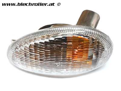 Blinker PIAGGIO vorne/links für Vespa ET2/ET4 50-150ccm - Weiß