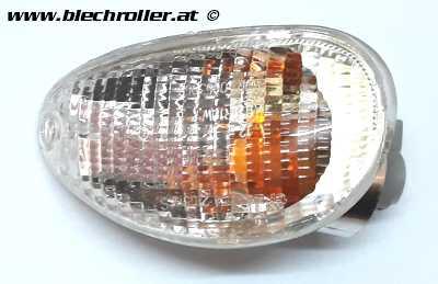 Blinker PIAGGIO hinten/links für Vespa ET2/ET4 50-150ccm - Weiß