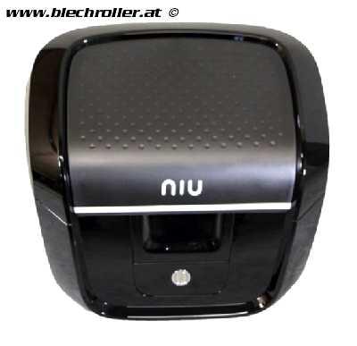Top Case inkl. Gepäcksträger schwarz NIU N-Serie