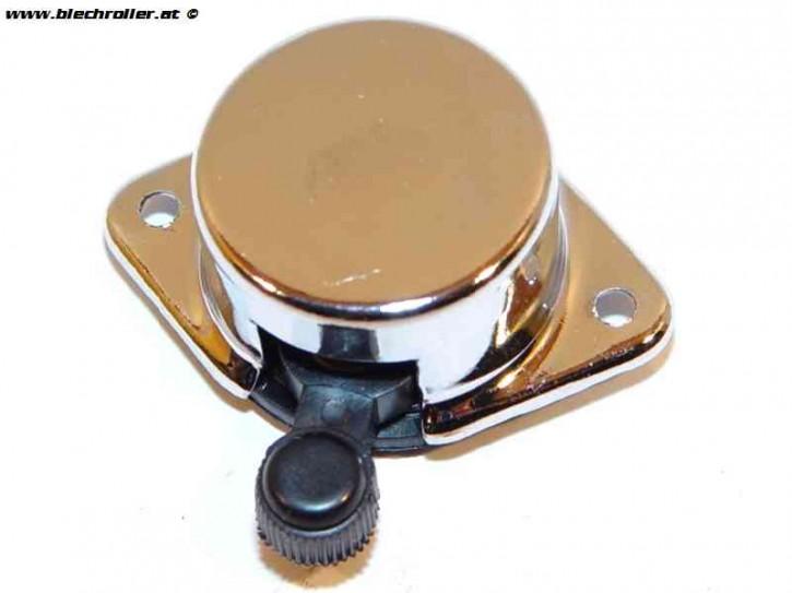 Blinkerschalter für Vespa 50-125 PV/ET3 /VNA-TS/ 150 VBA-T4/160 GS/180 SS/Rally - Chrom