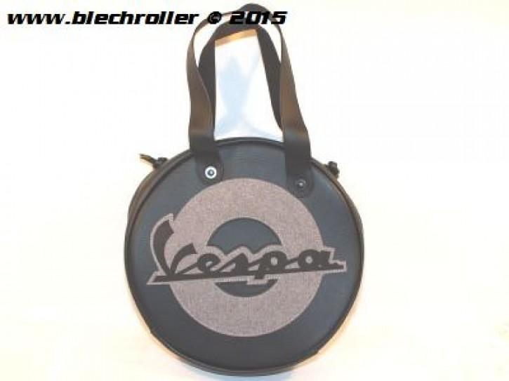 """Tasche """"VESPA"""" Ø35cm - Schwarz"""