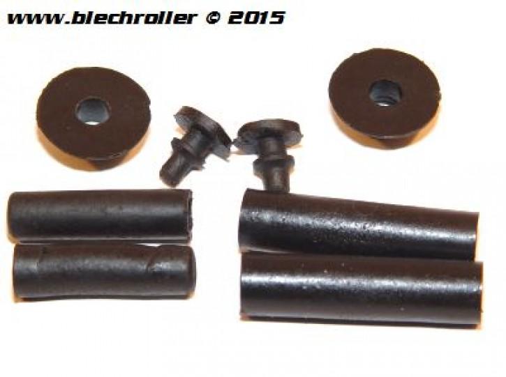 Befestigungskit Seitenhaube Motorseite/Ersatzradseite für Vespa P80-150X/P200E/PX80-200 E/Lusso/MY/T5
