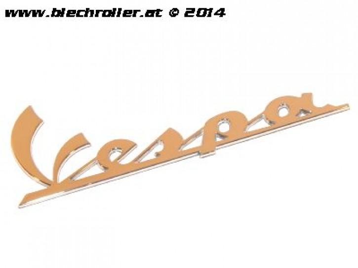"Schriftzug ""Vespa"", Seitenhaube für Vespa LX/LXV/S /GTS/GTS Super/GTV /GT 60/GT /GT L/PX/ Primavera/Sprint 50-150ccm - Chrom"