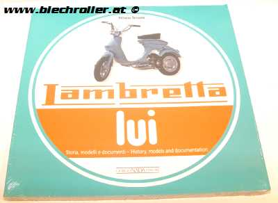 Buch -Lambretta Lui, history, models and documentation- von Vittorio Tessera
