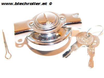 Tankdeckel Vespa 50 2°-125/PV/ET3/PK50-125/S - Abschließbar