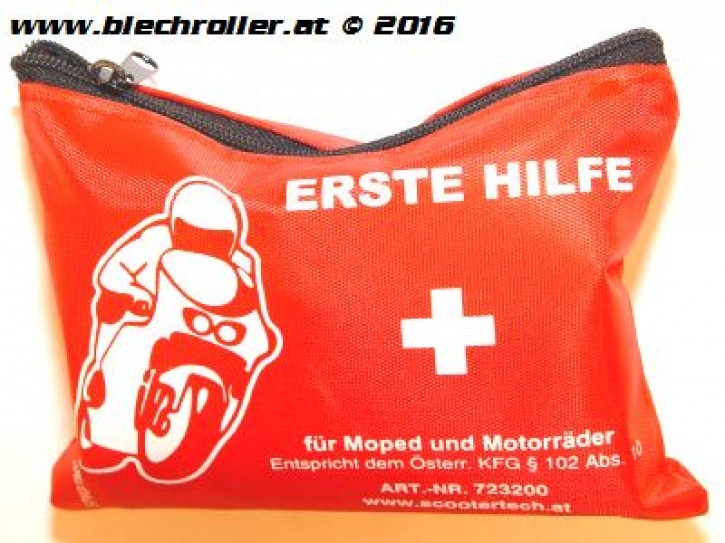 Verbandszeug/Erste Hilfe Päckchen - für einspurige KFZ