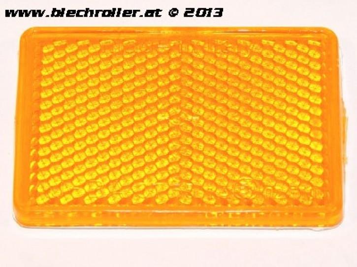 Seitenstrahler/Reflektor gelb - selbstklebend