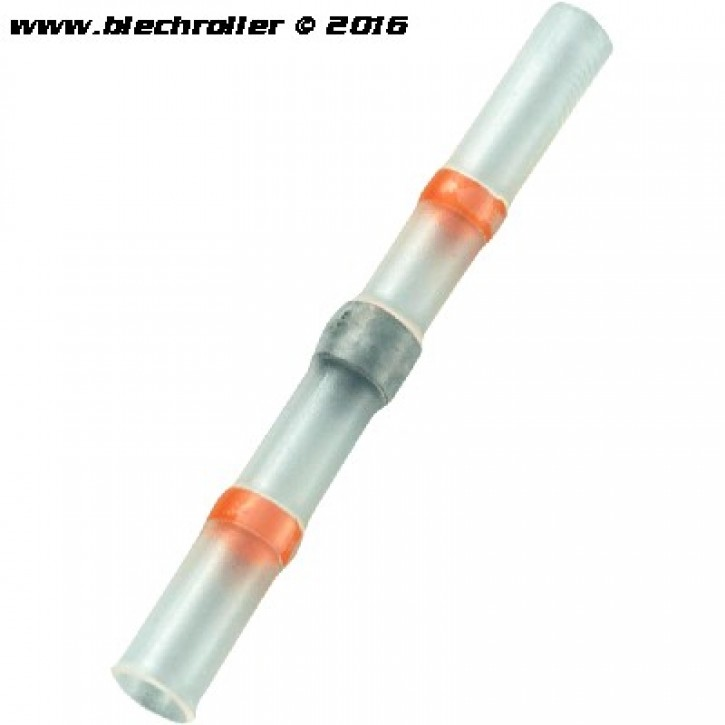 Schrumpf-Lötverbinder, für Kabelverbindungen bis 2,7mm² Querschnitt - Rot