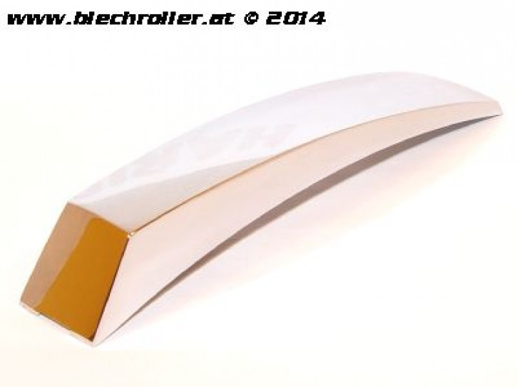 Kotflügelnippel eckig, für Vespa PX125-200 E `98/MY/PX/PE - Chrom
