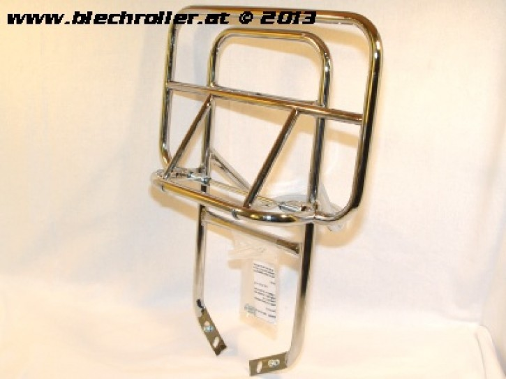Gepäckträger hinten, CUPPINI für Vespa PX80-200/PE/Lusso/T5/LML Star - Chrom