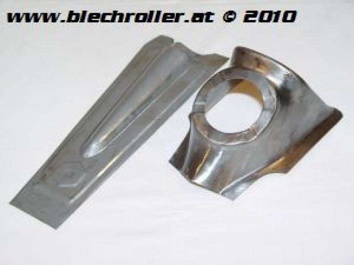 Reparaturblech Kaskade V50 Special/S/L/PV/ET3, 6-eckiges Emblem