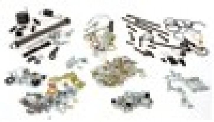 Schrauben KIT 300 Teile Motor und Rahmen für Vespa 125 VNA/VNB/150 VBA/VBB