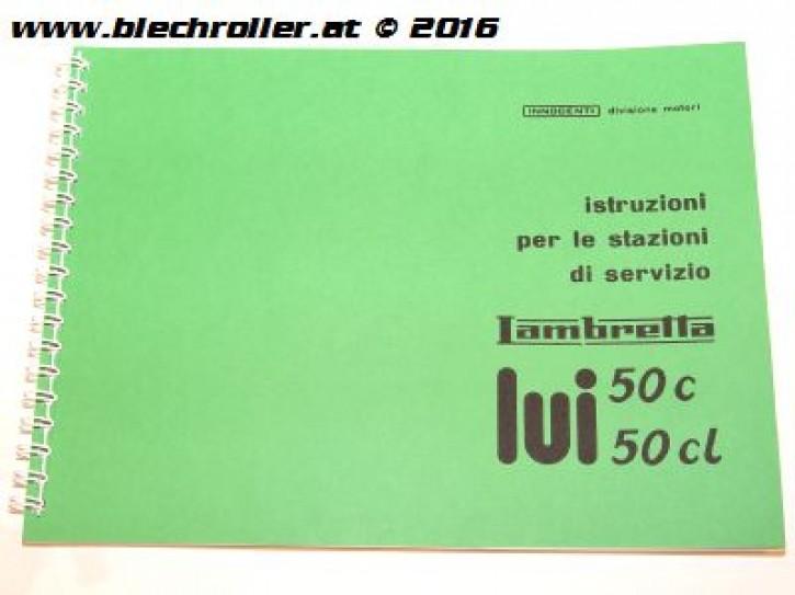 Werkstatthandbuch LAMBRETTA 50-75 Lui