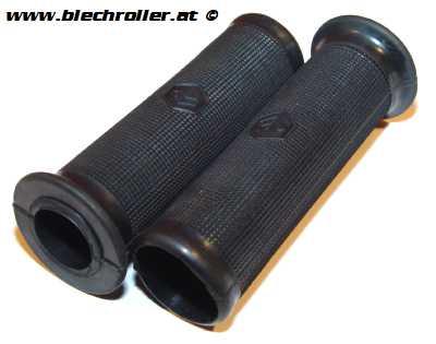 Griffe für Lenkerendenblinker mit Piaggio 6-Eck - Schwarz