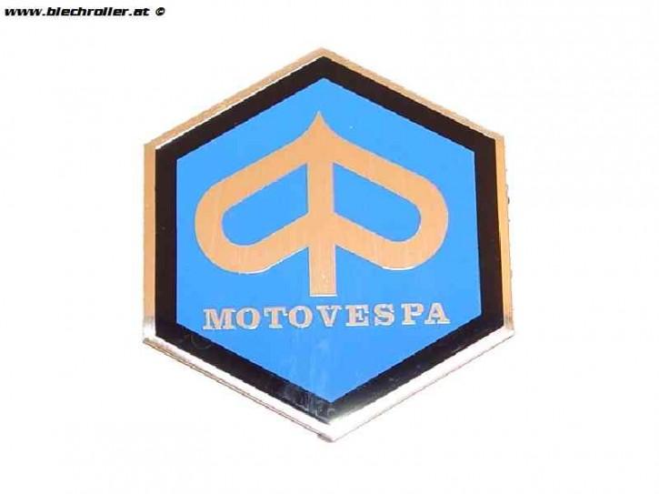 Schriftzug Kaskade Motovespa Sechseck für Motovespa 150 Sprint (S66), Motovespa 150 GS (G67), Motovespa 160 (E70)