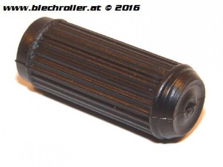 Bremspedalgummi LAMBRETTA Lui 50 C-CL, 75 S-SL - Schwarz