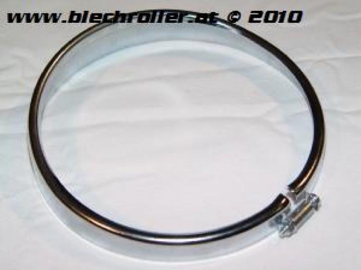 Scheinwerferzierringe CRABOR für Vespa V50/V50R/V90/L/R/S/SR - Chrom