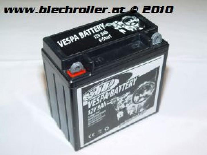 Batterie 12V/9Ah YB9-B - vorgeladen/einsatzbereit