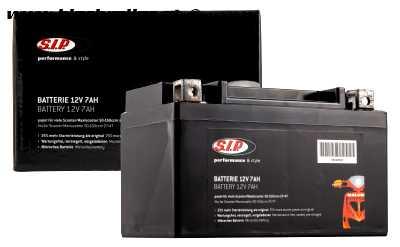Batterie SIP 12V/7Ah, Typ: YTX7A-BS - vorgeladen/betriebsbereit