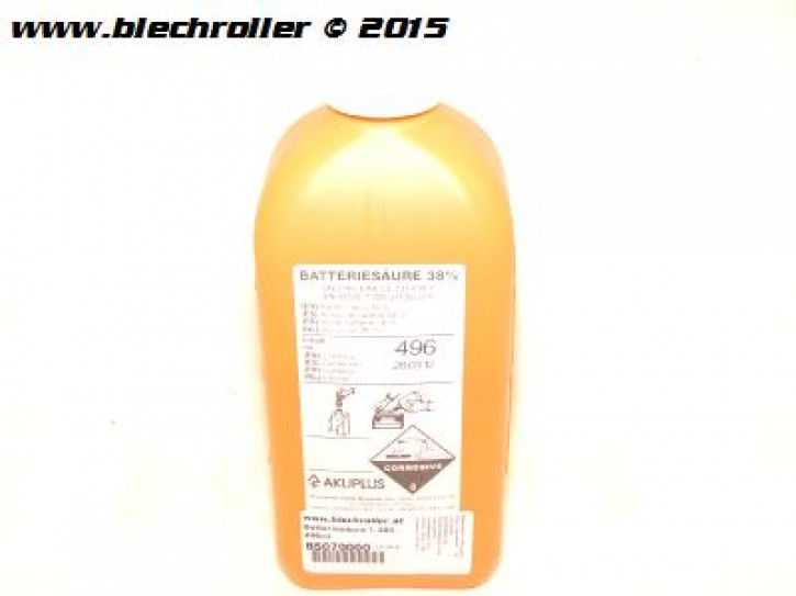 Batteriesäure 1,285 - 496ml