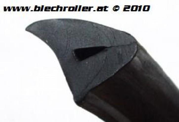 Seitenhaubengummi links/rechts für Vespa/LML 125-200ccm (siehe Details) - schwarz