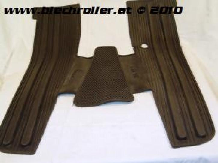 Fußmatte Vespa PX80-200/PE/Lusso/`98/MY/`11 - schwarz - Eco-Qualität