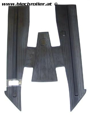 Fußmatte für Vespa PK50-125/S/SS/ETS/Automatica - schwarz