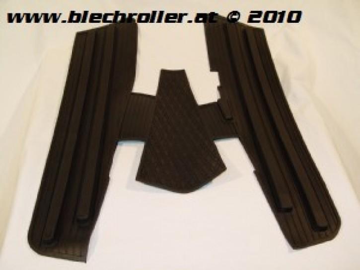 Fußmatte Vespa Sprint/Veloce/GT/GTR/ TS/T4/Rally/VNB/VBB - schwarz