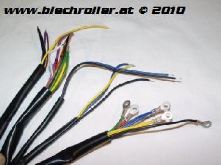 Kabelbaum Vespa 125 GTR/TS/ 150 Sprint/Veloce/ 180 Rally VSD1T ohne Blinker/Batterie