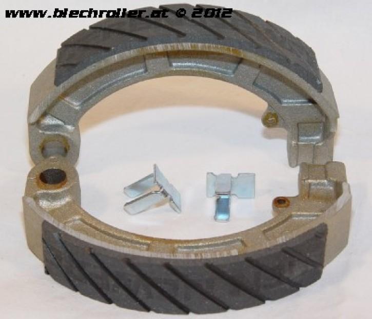Bremsbeläge 10 Zoll NEWFERN hinten alle gängigen Modelle, PK/PE/PX vorne ...