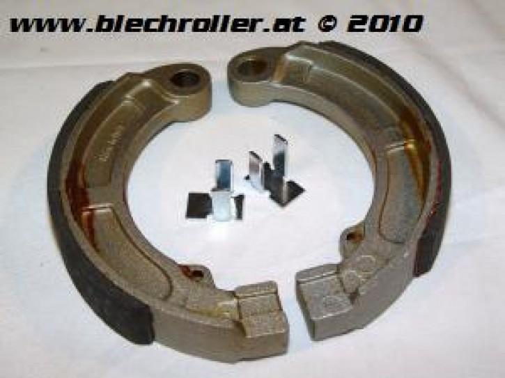 Bremsbeläge 9 Zoll für V50 N/L/R/S/Special/ Elestart/SR/90/100 - hinten