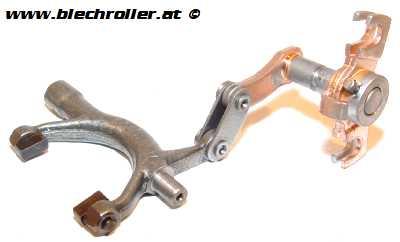Schaltarm/Schaltgabel für Vespa V50/V90/SS50/SS90/PV125/ET3 - komplett