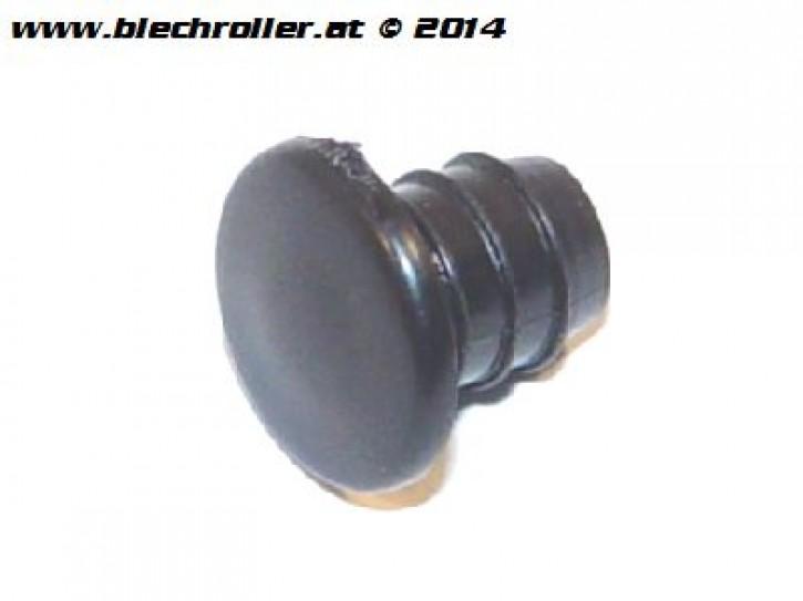 Verschlussdeckel Reserveradhalter, für Vespa 50-125/PV/ET3 - Schwarz