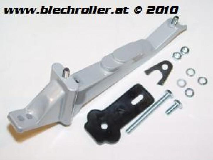 Reserveradhalter Vespa V50/PV/ET3/ Sprint/V/GT/GTR, aluminium/silber